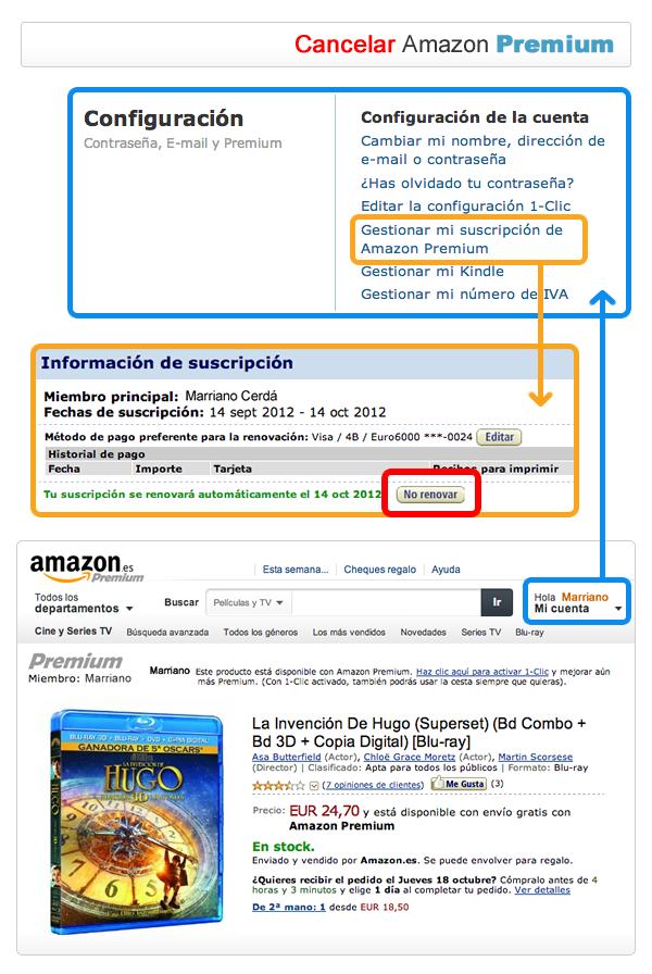 Configurar Amazon Prime