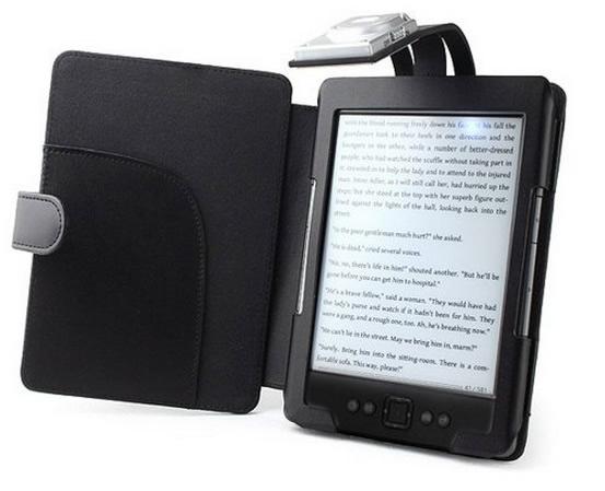 Funda con luz para Kindle
