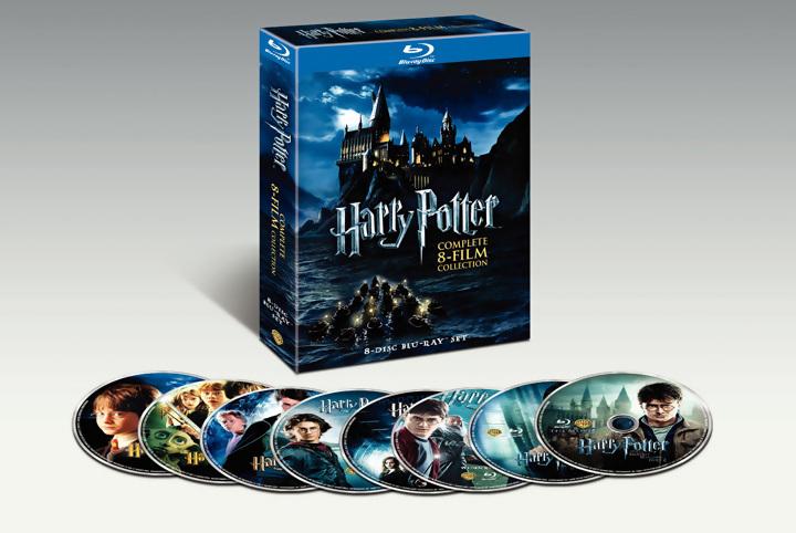 Oferta Pack Harry Potter Blu-ray
