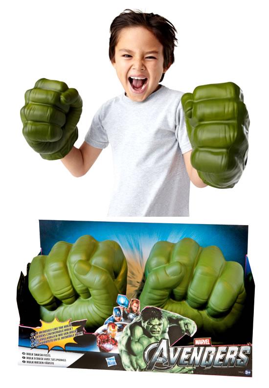 Oferta Puños HULK Hasbro