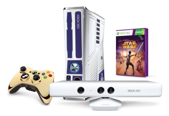 Oferta XBOX 360 Star Wars Kinect