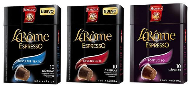 Oferta cápsulas nespresso