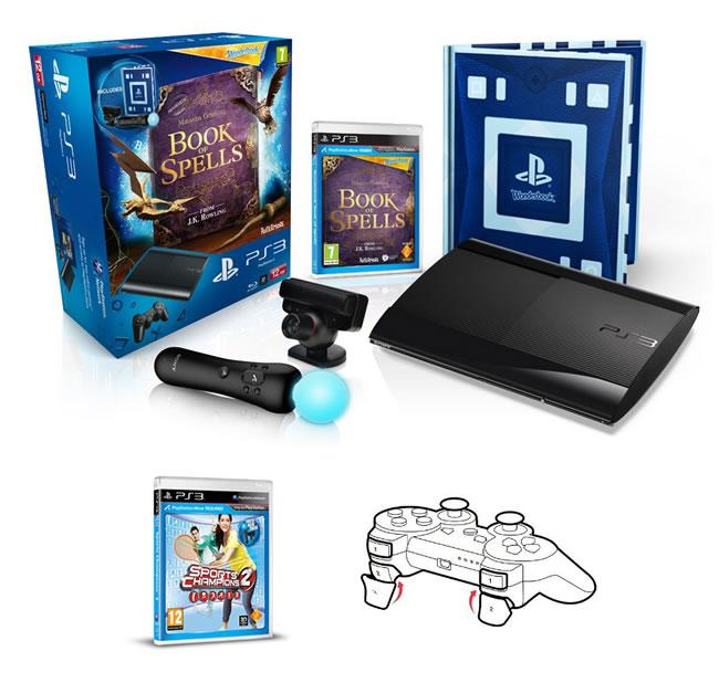Oferta PS3 Super Slim 12GB Move