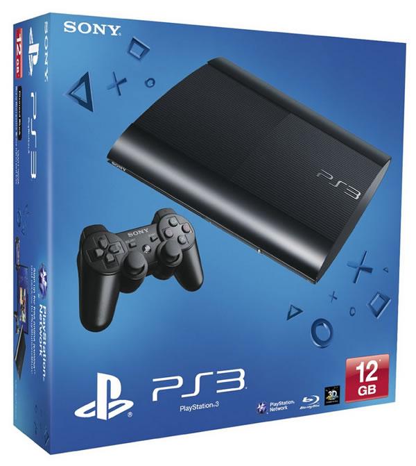 Oferta PS3 Super Slim 12GB