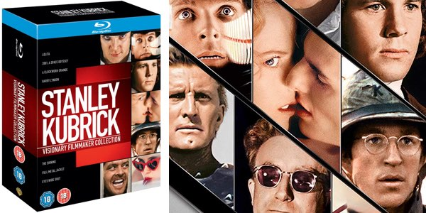 Colección Stanley Kubrick Blu-ray Chollo