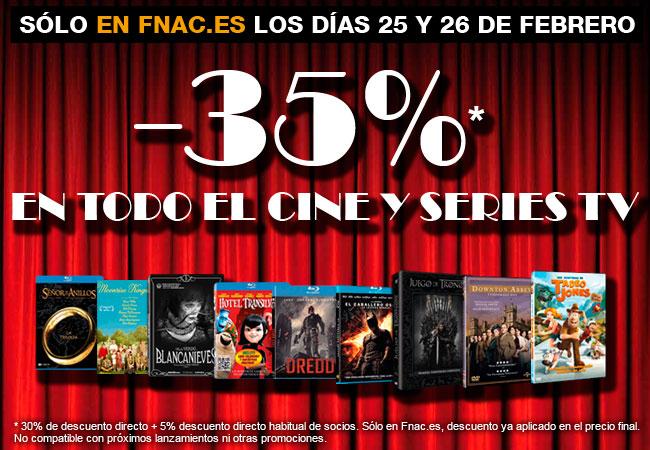 Ofertas cine Fnac
