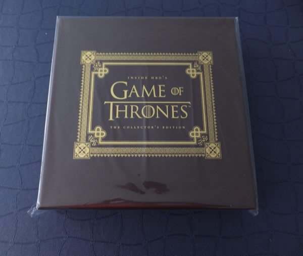 Libro Inside HBOs Game of Thrones Deluxe Edition Oferta