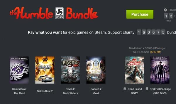 Oferta Steam Humble Bundle