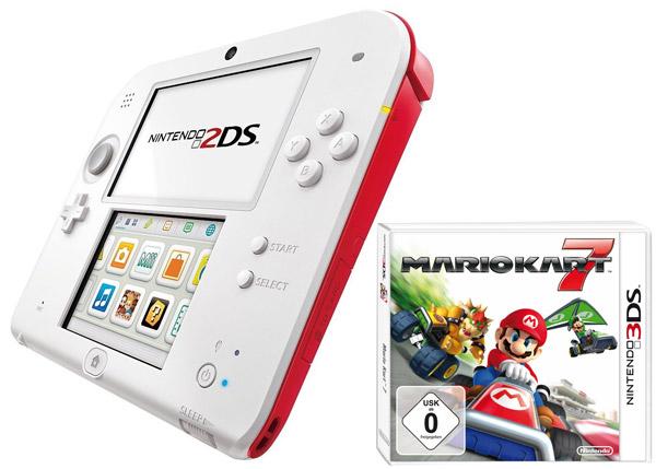 Oferta-Pack-Consola-Nintendo-2DS-+-Mario-Kart-7-por-118€