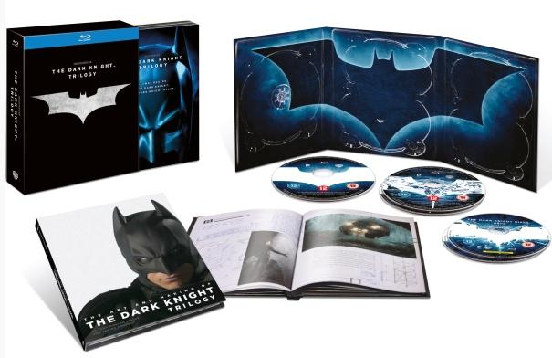 Trilogía El caballero oscuro Blu-ray oferta