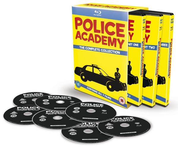 Loca Academia de policía Blu-ray