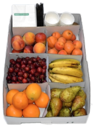 Fruta variada oferta