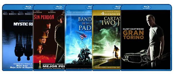 Películas Blu-ray Clint Eastwood