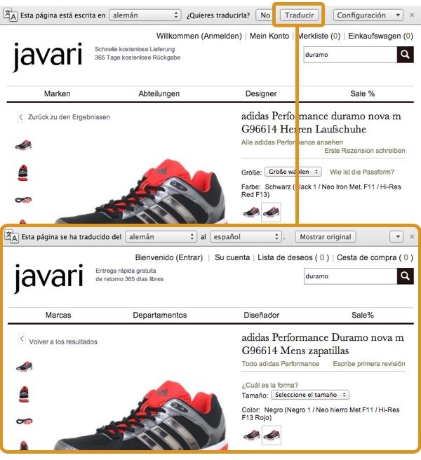 Comprar en  Javari Alemania