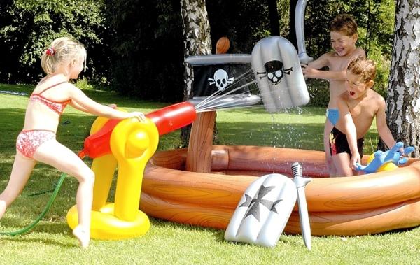 Oferta piscina hinchable infantil