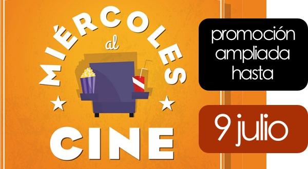Promoción Miércoles al cine