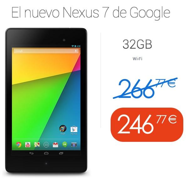 Oferta Nexus 7 barato
