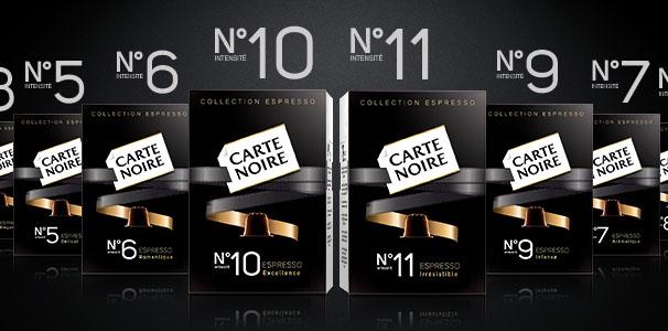 Oferta cápsulas nespresso Carte Noire