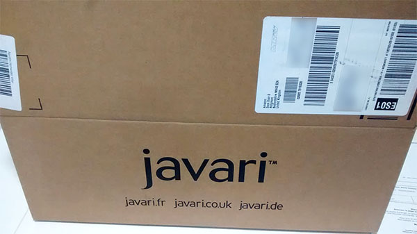 Envío desde Javari