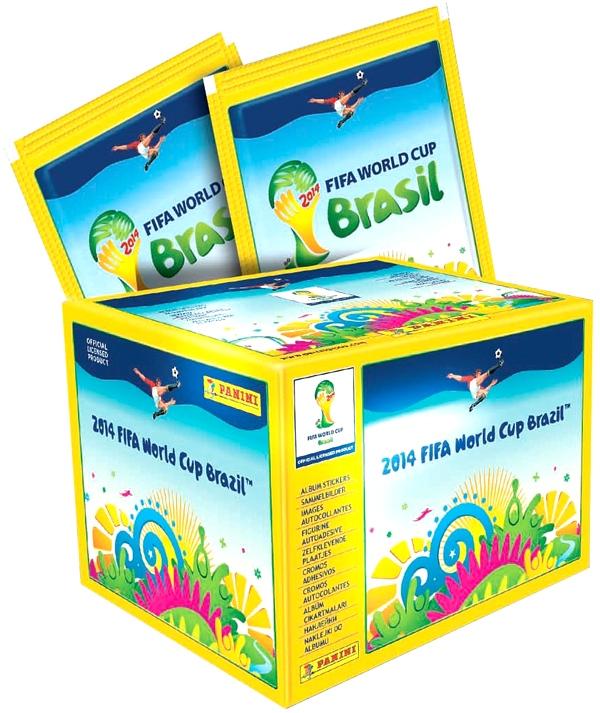 Cromos Mundial Brasil 2014