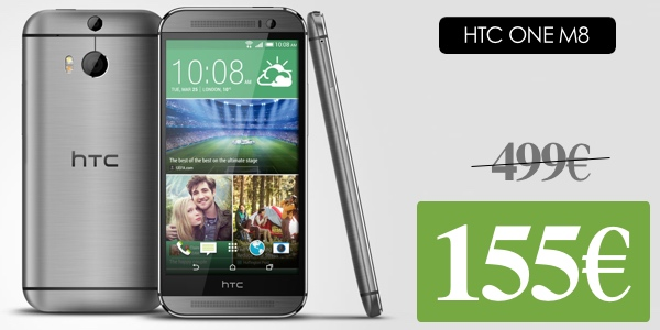 HTC ONE M8 32GB libre barato