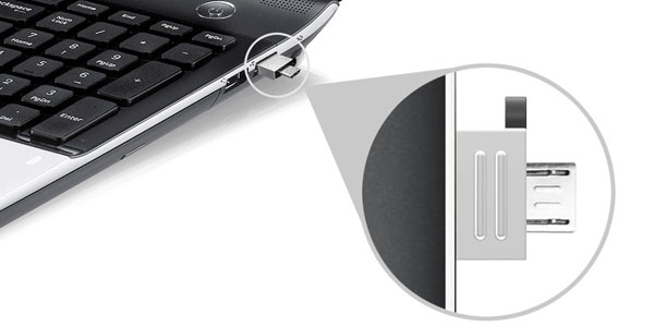 Smartphone/Tablet microusb PC