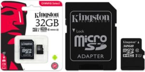 Kingston micro sdhc 32 GB barata