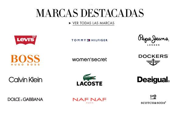 Marcas destacadas en Amazon Moda