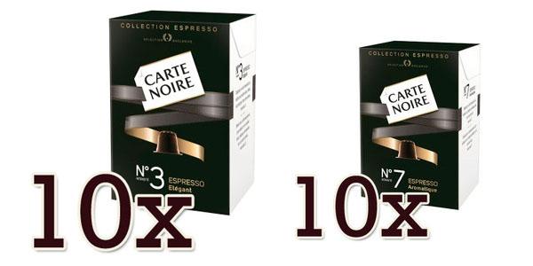 Oferta nespresso carte noire