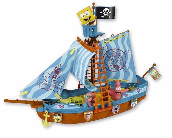 Barco de juguete de Bob Esponja