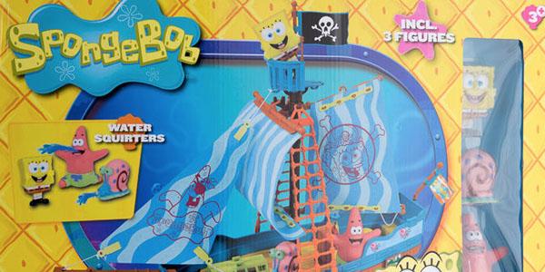 Barco pirata de Bob Esponja