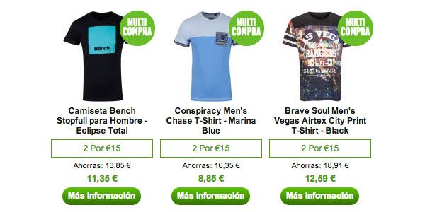 Camisetas baratas en Zavvi