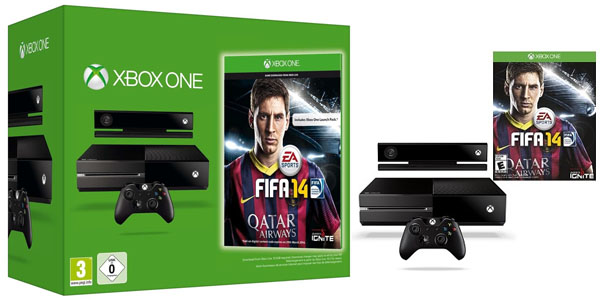 Pack Xbox One Fifa 14
