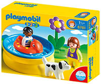 Piscina Playmobil 1 2 3