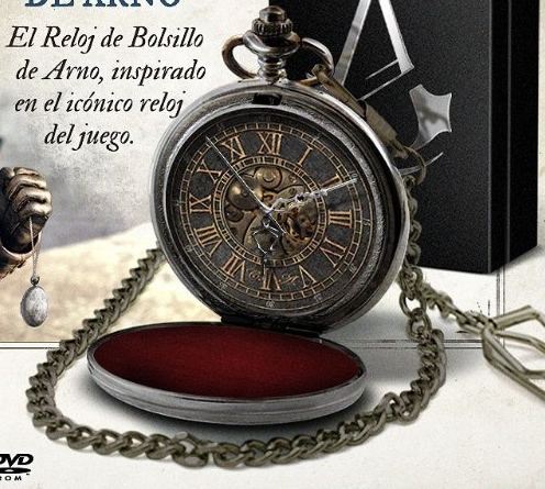 Reloj bolsillo Assassin's Creed