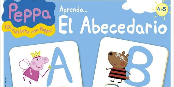 Juego abecedario Peppa Pig
