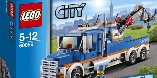 Camión grúa LEGO barato