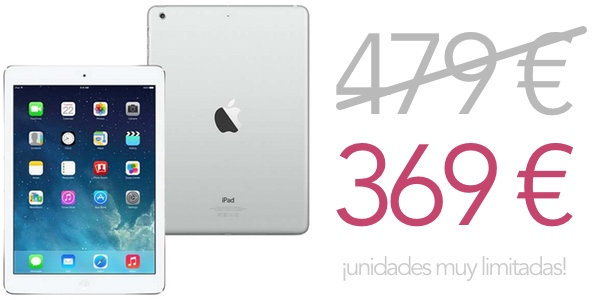 iPad Air barato