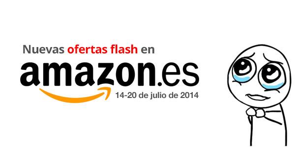 Nuevas ofertas flash en Amazon España