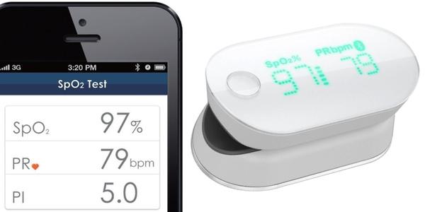Pulsioxímetro digital iHealth