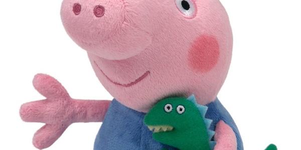 Peppa Pig George dinosaurio