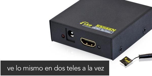 Duplicar señal Canal+