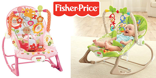 Fisher Price Crece Conmigo hamaca bebé convertible silla fija oferta