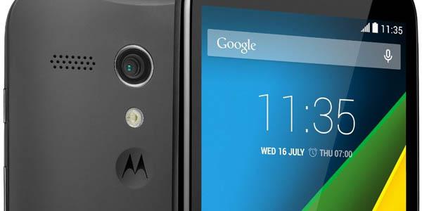 Oferta Motorola Moto G 4G con microSD