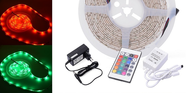 Tira luces LED barata
