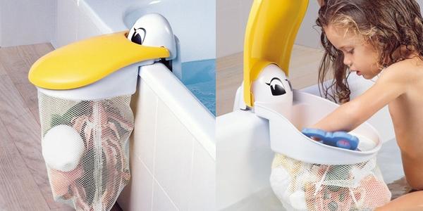 Bolsa juguetes bañera