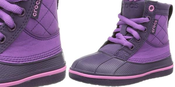 botas crocs niña oferta