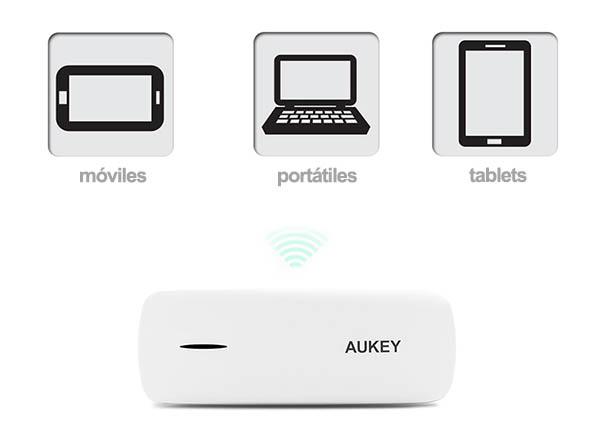 Conexión Wifi portátil