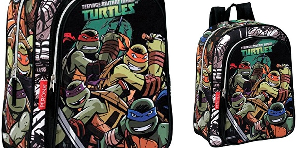 mochila tortugas ninja