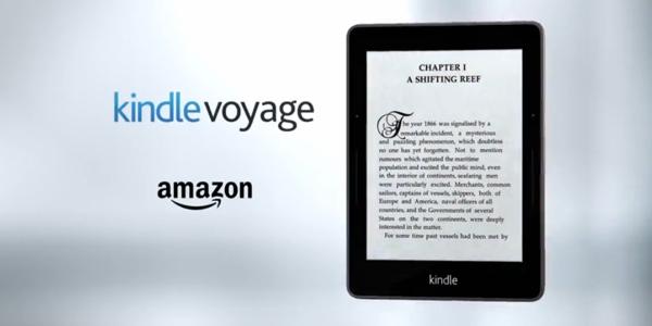 El nuevo Kindle Voyage de Amazon